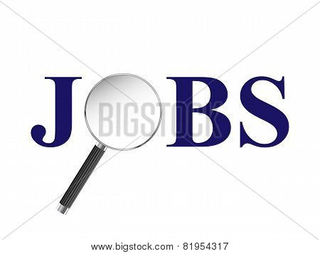 Jobs Magnifying Glass