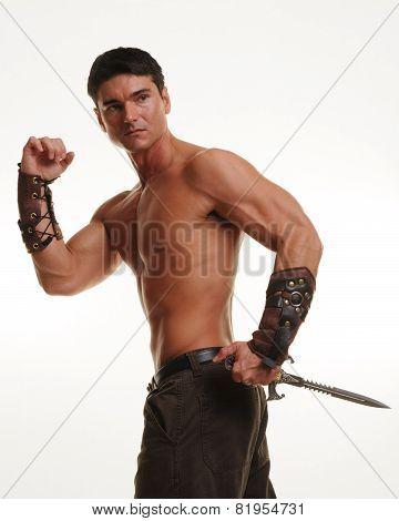 muscular warrior