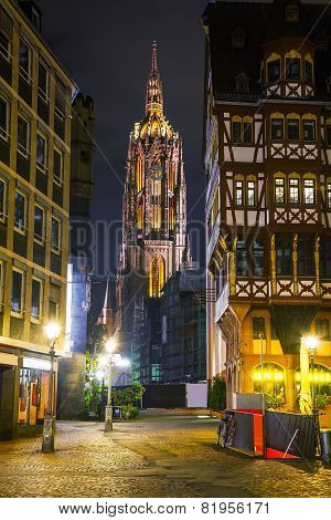 Frankfurt Cathedral In Frankfurt Am Main