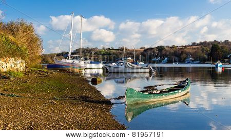 Mylor Bridge Cornwall England