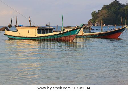 Belitung Island Fishing Boats