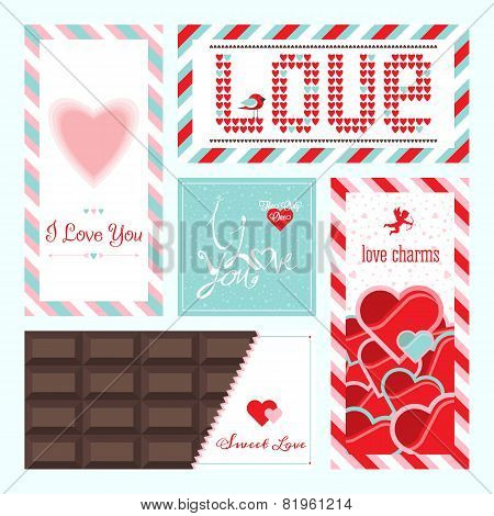 Valentines Day And Wedding Greeting Card