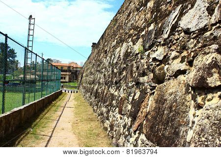 Wall Galle Fort