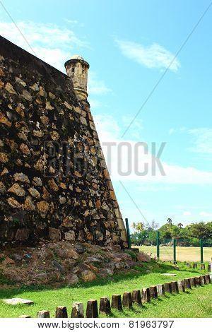 Observation tower at Fort Galle, Sri Lanka