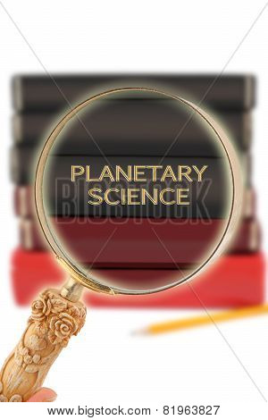 Looking In On Education -  Planetary Science