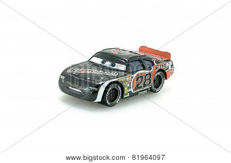 Number 28 Nitroade Racer Aiken Axler A Protagonist Of The Disney Pixar Feature Film Cars.