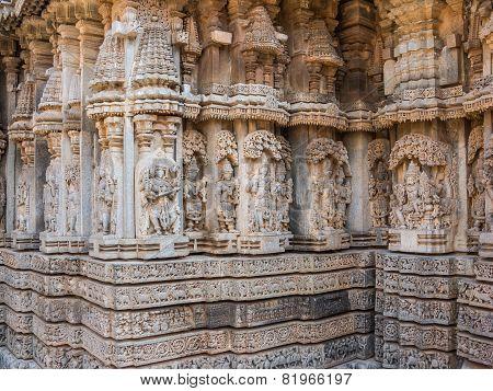 Carvings at Somanathapur