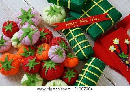 Vietnam Tet, Banh Tet, Banh Chung, Happy New Year