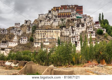 Thiksay Monastery, Ladakh, Jammu And Kashmir, India