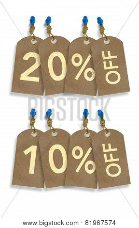 Special Sale Paper Tags