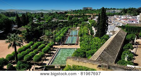 Gardens Of Alcazar Of The Christian Monarchs, Cordoba, Spain