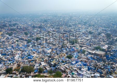 View Of Jodhpur, The Blue City
