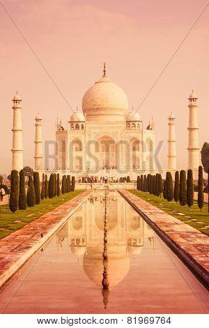 Taj Reflecting Pool