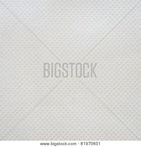 White Nonwoven Fabric Background