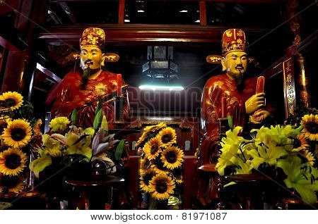 Emperors In A Vietnamese Temple