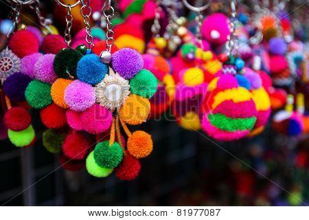 Colorful Handmade Souvenir Key Chain