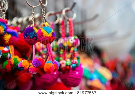 Colorful Handmade Souvenir Key Chain