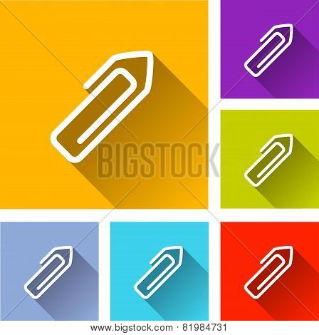 Paper Clip Icons