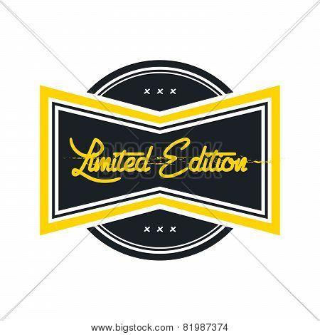 limited edition vintage label theme
