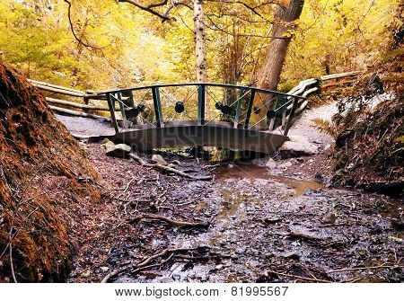 Bridge Over Stream, Stormont, Co. Donegal, Ireland