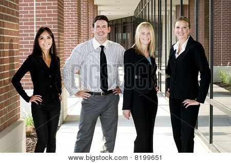 Happy Business Team