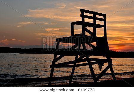 Sunset Over Niles Beach