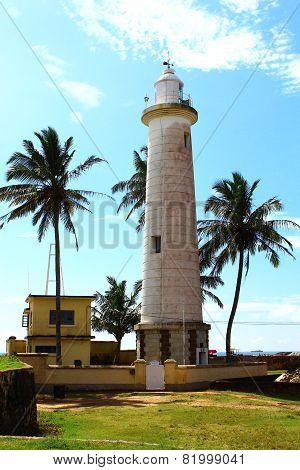 Lighthouse in Galle Fort , Sri Lanka
