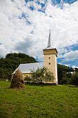 Medieval Church In Corna Village poster