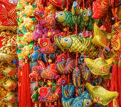 stock photo of keepsake  - Goodluck item on sale during Chinese New Year - JPG