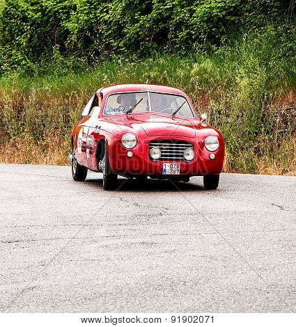 old car ZAGATO  FIAT 1100 E Berlinetta  1950  mille miglia 2015