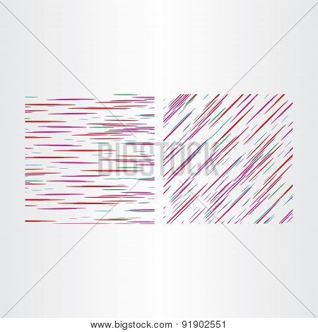 Two Color Line Textures