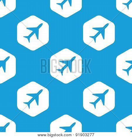 Plane hexagon pattern