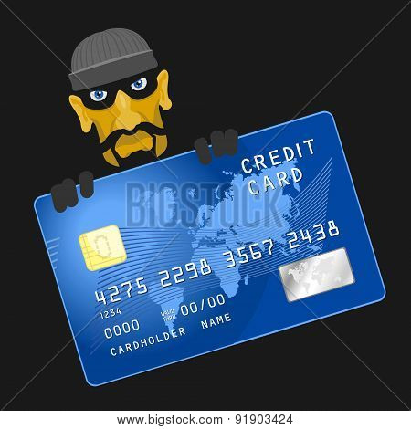 Criminals hacked credit card