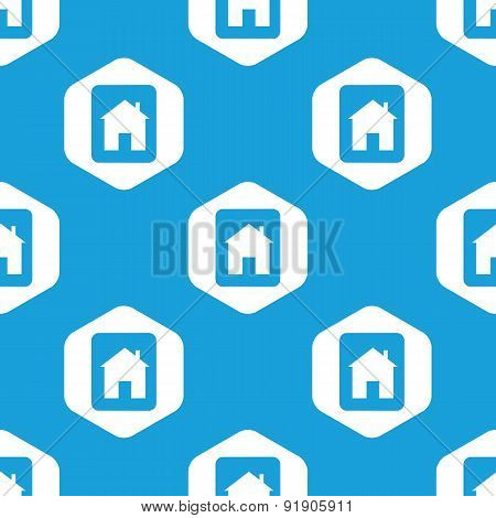 House sign hexagon pattern