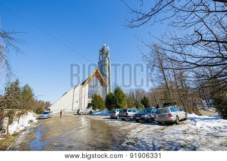 Holy Cross Parish Church In Zakopane, Poland