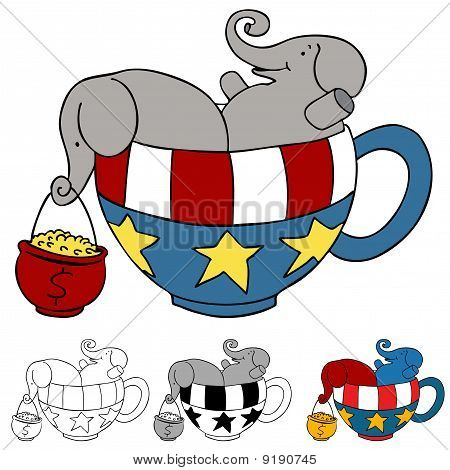 Tea Party Elephant Donations