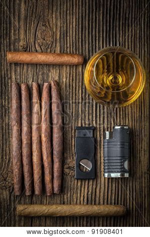 Quality Cigars With Cognac