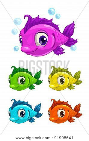 Cartoon Cute Fish