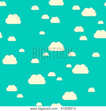 Seamless Pattern Clouds