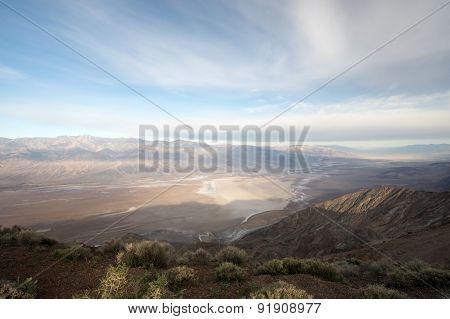 Dantes View, Death Valley National Park, California, Usa