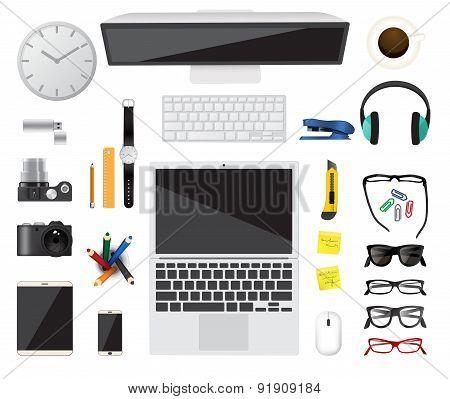 Business concept. Flat design.