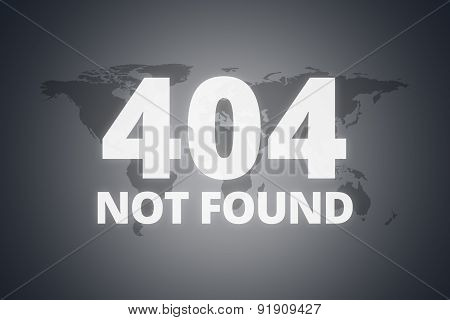 404 Not Found Message On Screen