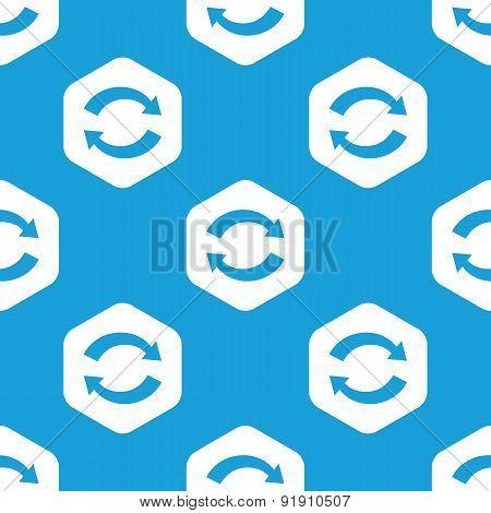 Exchange hexagon pattern