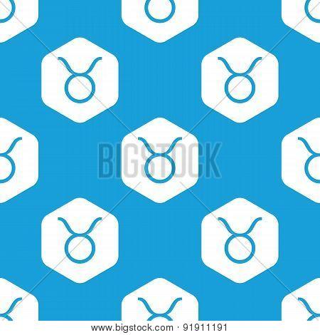 Taurus hexagon pattern