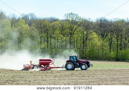 Sowing The Corn