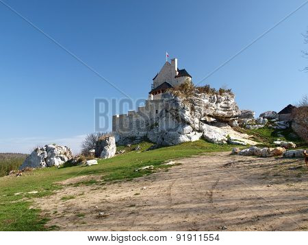 Bobolice castle.