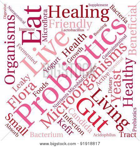 Probiotics Word Cloud