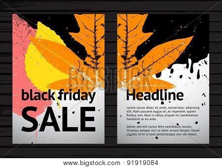 Black Friday Colorful Poster Design
