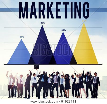 Marketing Advertise Analysis Business Commercial Concept