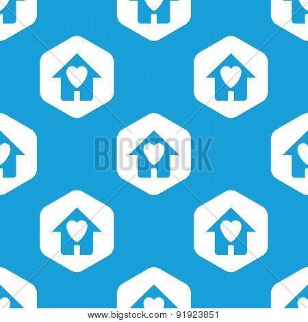 Beloved house hexagon pattern